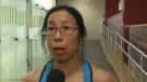 """""""I just fell in love with the game,"""" said 55-year-old Belinda Lau-Beaton, who didn't even try the sport of squash until five years ago."""