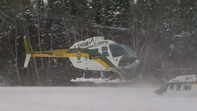 CTV National News: Five missing snowmobilers