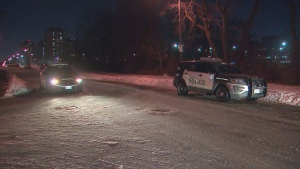 Toronto police are investigating a stabbing near York University that sent a female victim to trauma centre in life-threatening condition.