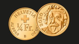 Switzerland says it has minted a gold coin that is the smallest in the world. (Swissmint/Facebook)