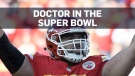 Canada's football-playing doctor reaches the Super