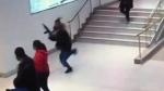 Teen hit with butt of long gun at Langley mall
