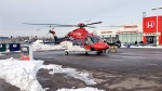 One person had to be airlifted to hospital following a crash in Whitby on Thursday morning. (Twitter / @DRPS)