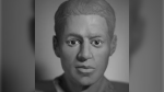 A reconstruction shows what a man whose remains were found in Chilliwack in 1972 may have looked like. (Provided)