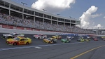 NASCAR Cup Series auto race at Charlotte Motor Speedway in Concord, N.C. (Gerry Broome / AP)