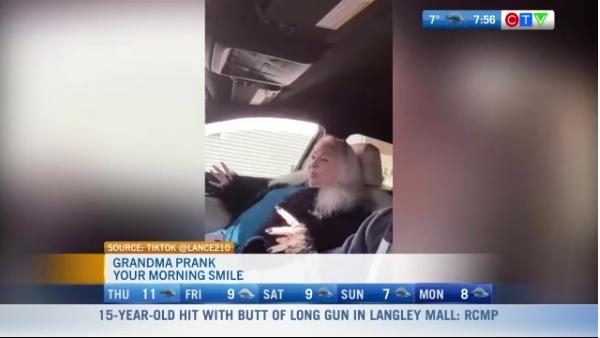 Pranking a grandma
