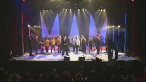 Sudbury Blues Brothers performs Mustang Sally for the 2019 CTV Lion's Children's Christmas Telethon.