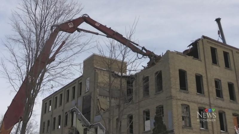 Electrohome building demolition begins