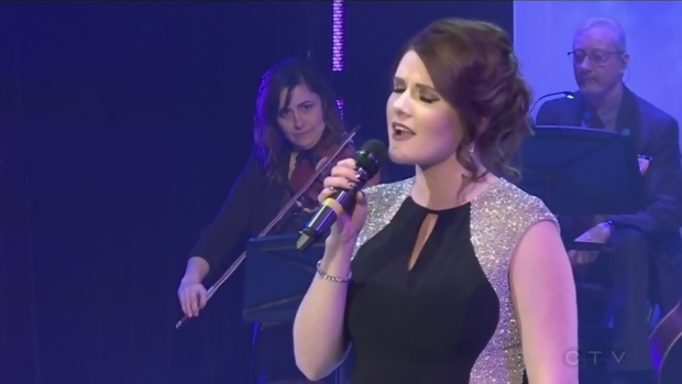 Lyndsay Aelick sings What are you doing New Years Eve? by Kacey Musgraves for the 2019 CTV Lion's Children's Christmas Telethon.