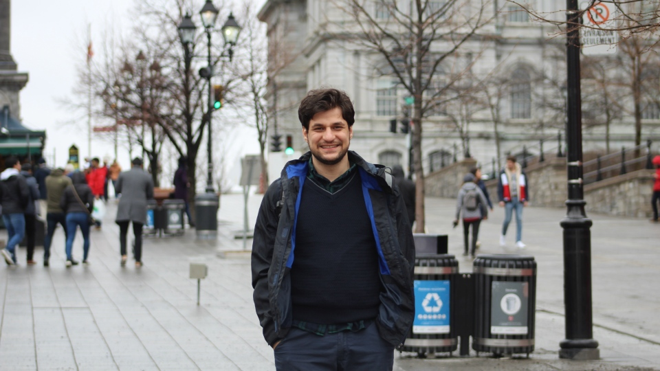 Mohammad Owlia has lived in Canada for the past three years and has been working as a software engineer.