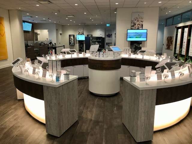The new Parksville BC Cannabis Store is the fourth government-run shop to open on Vancouver Island, and 12th in the province: (BC Liquor Distribution Branch)