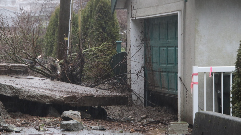 'Still is a mess': mudslide cleanup in Burnaby expected to take a week