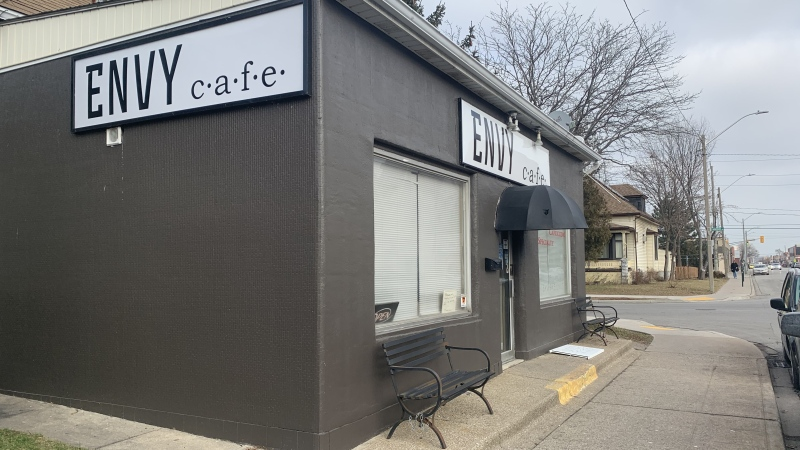 Envy Cafe on Erie Street East in Windsor. (Submitted to CTV Windsor)