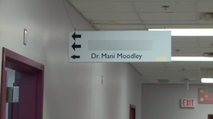 Moodley's medical licence has had interim restrictions imposed since September 2017; which included having an attendant with him from beginning to end when seeing female patients.