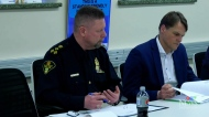 Public meeting with police board
