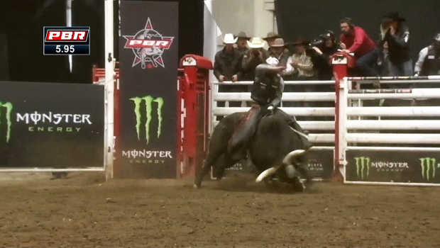 Watch: professional bull riders are in town Friday and Saturday at the Western Event Centre