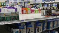 Face masks flying off store shelves