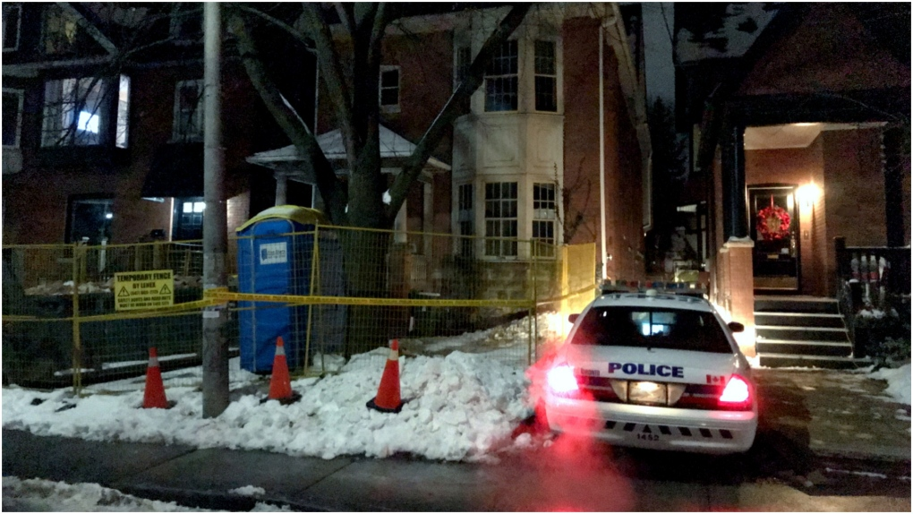 Police investigating bones found at home in The Annex