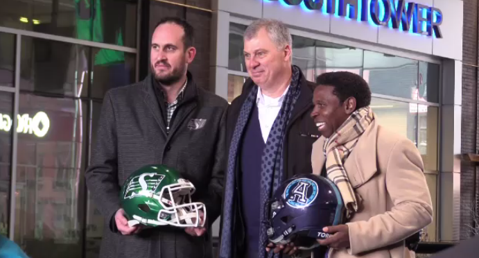 Touchdown Atlantic to play host to Riders and Argos