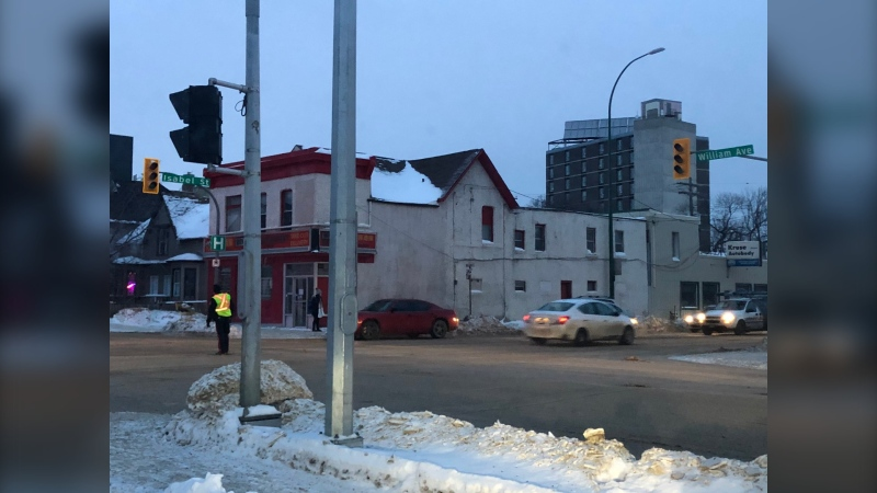 The outage is impacting several intersections. (Source: Alex Brown/CTV News Winnipeg)