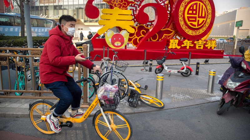 Virus puts damper on Lunar New Year, China's biggest holiday