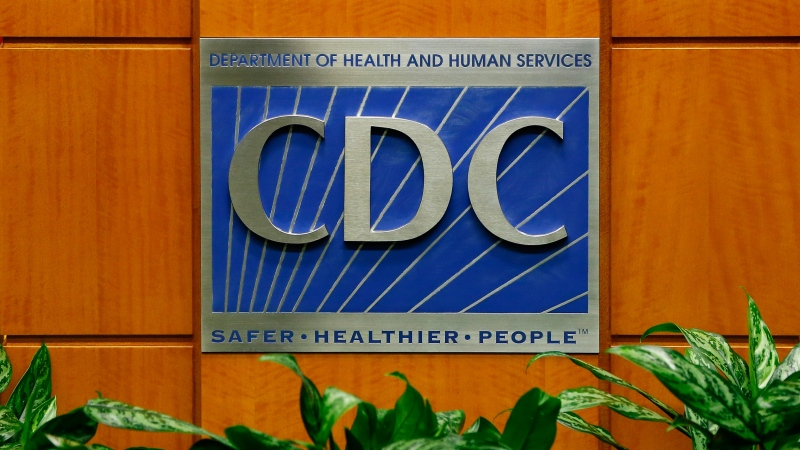 A podium with the logo for the Centers for Disease Control and Prevention on October 5, 2014 in Atlanta, Georgia. (Kevin C. Cox/Getty Images North America/Getty Images)