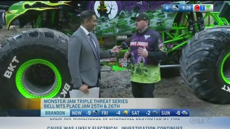 Pit Stop: Monster Jam Triple Threat Series