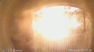 Moment of Houston warehouse blast caught on cam