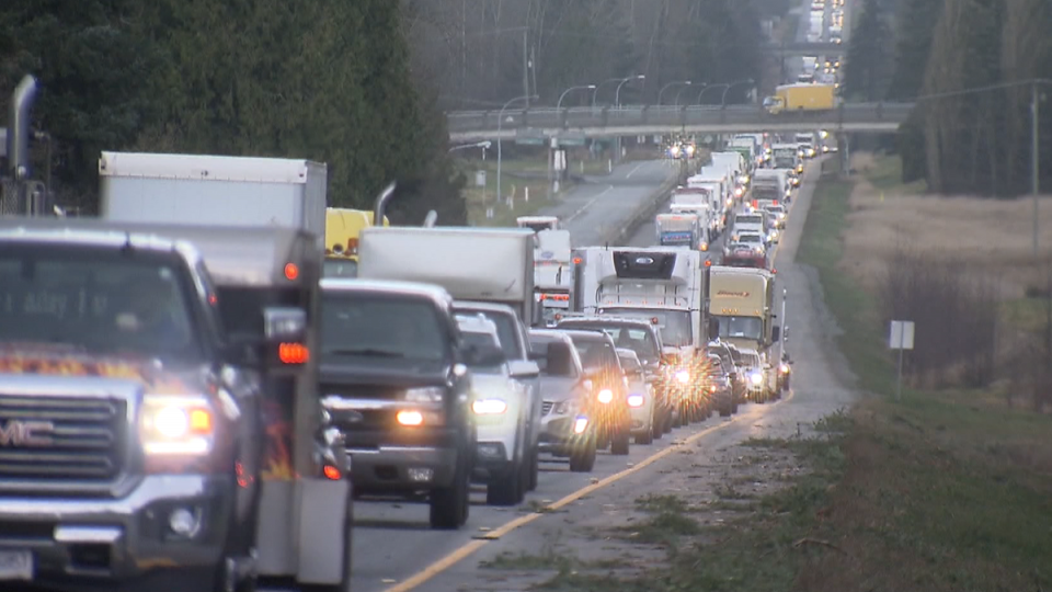 Heavy traffic is seen on Highway 1 in this undated file photo.