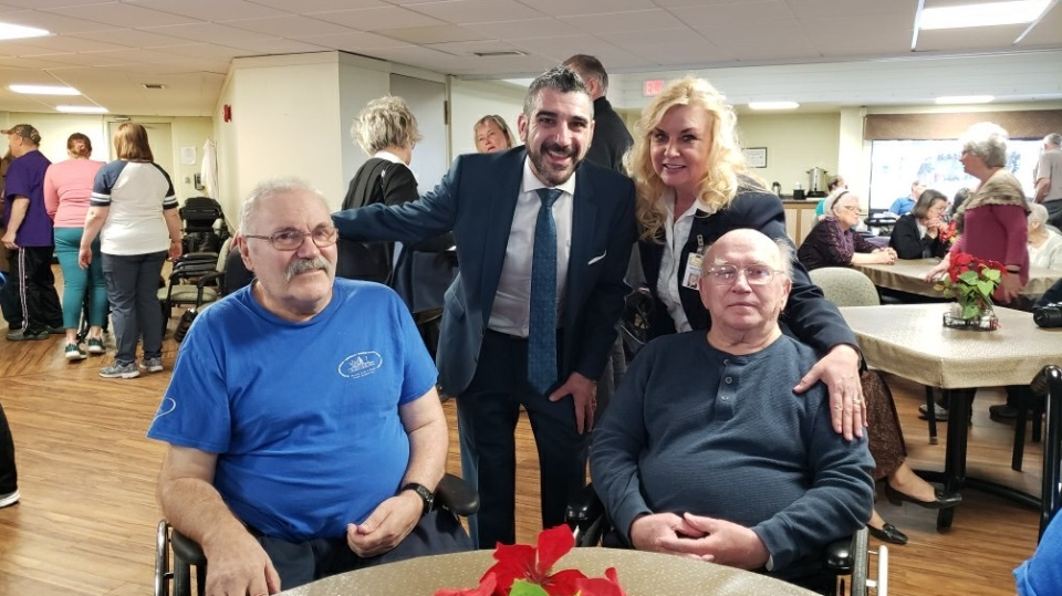 Sault Ste. Marie MPP Ross Romano made an announcement that the Ontario Finnish Resthome will get 128 new long-term care beds. Jan. 24, 2020. (Supplied)