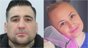 Ricardo Miraballes, left, and Maryna Kudzianiuk, right, are seen in these photos released by police. (Handout)