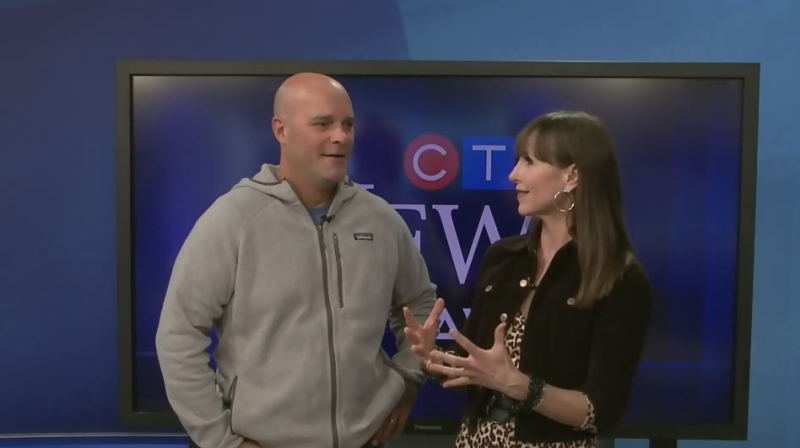 CTV's Leanne Cusack chats with some HGTV stars who