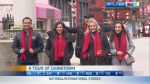 CTV Morning Live hosts in Chinatown