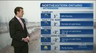 Northern Ontario weather forecast with Will Aiello