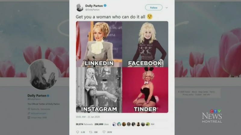 Trending: Dolly Parton's viral challenge