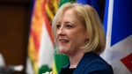 Former Conservative MP Lisa Raitt attends a Conservative caucus retreat on Parliament Hill in Ottawa, on Friday, Jan. 24, 2020. THE CANADIAN PRESS/Justin Tang