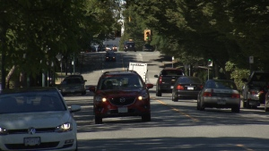 Starting Monday, Jan. 27, East Vancouver's Prior/Venables Street will have fewer lanes and a reduced speed limit. (CTV)