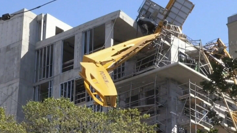 Crane-related repairs cause disruptions in Halifax