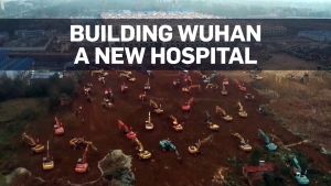 New Wuhan hospital to be built, opened in under tw