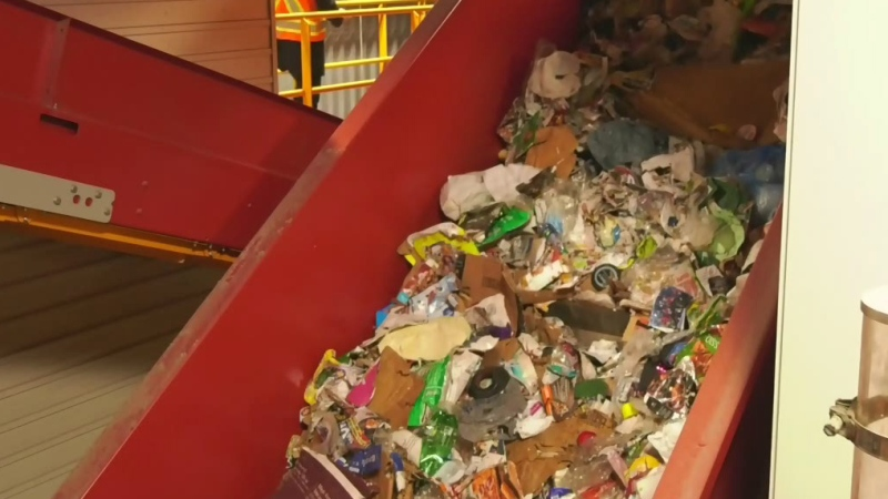 Recycling company halts operations