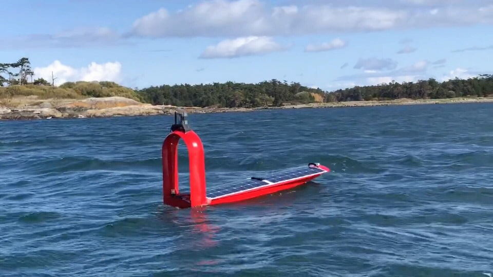 A Saanich-based company is testing out a new series of solar-powered autonomous boats that can monitor B.C.'s waters accurately and remotely: Jan. 24, 2020 (CTV News)