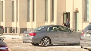 Jason McKay is pictured leaving court on Jan. 24, 2019.