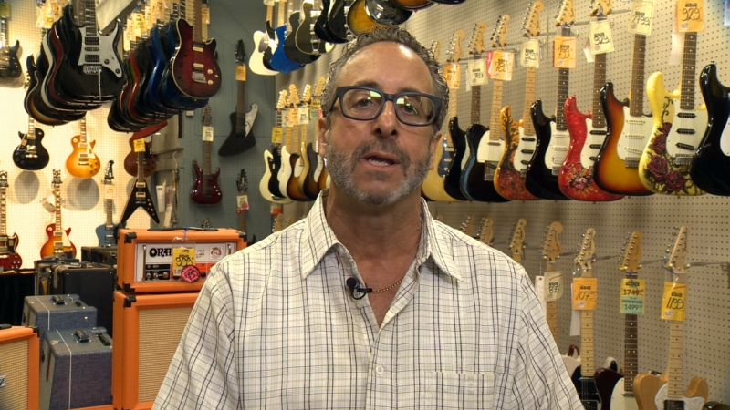 Sheldon Sazant, general manager of Steve's Music Store, died on Jan. 23, 2020.