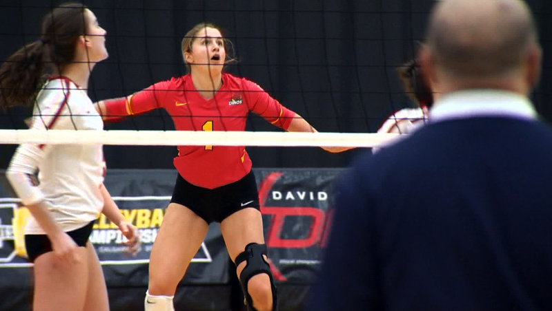 U of C volleyball player Kate Pexman is our Athlete of the Week. Glenn Campbell reports.