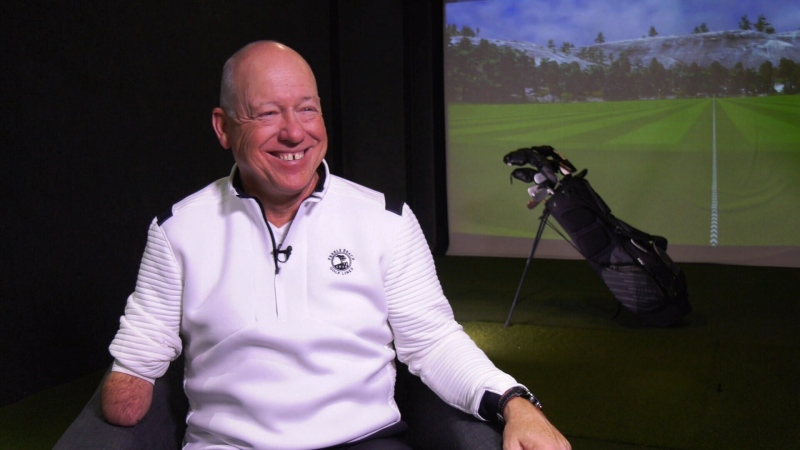 Quebec golfer Laurent Hurtubise has every reason to smile -- he scored a hole-in-one at a PGA event last week.