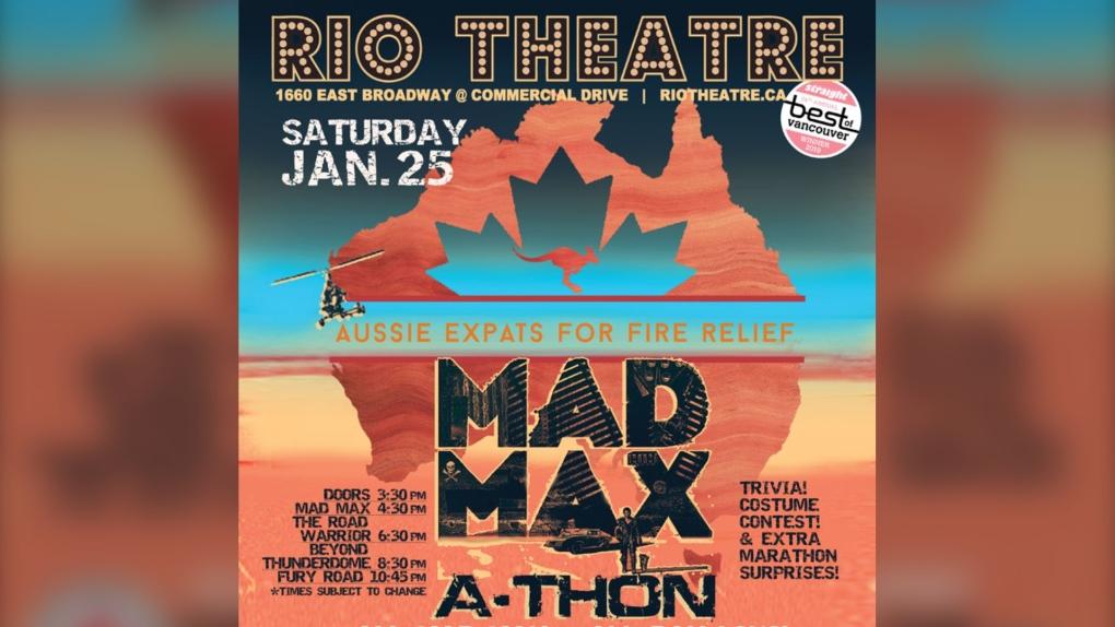 Rio Theatre hosting 'Mad Max' marathon for Australia fire relief