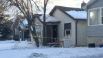 A man was found critically injured in a home in the 4400 block of Dewdney Ave. on Friday, January 25, 2020.