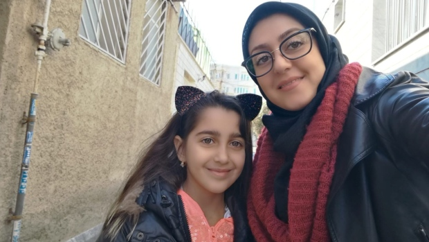 Sahar Haghjoo and her daughter Elsa Jadidi are seen in this undated handout photo.(THE CANADIAN PRESS/HO, Habib Haghjoo)