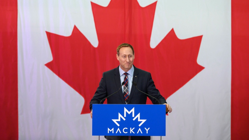 Peter MacKay launches CPC leadership bid