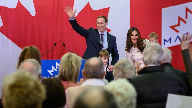 Former Conservative MP Peter MacKay officially launched his leadership bid in Nova Scotia